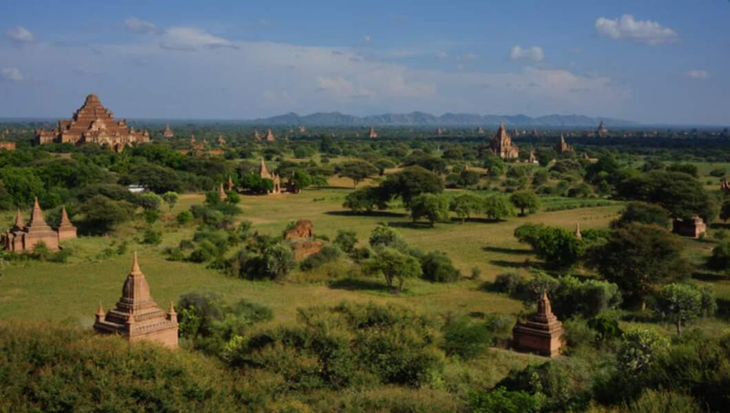 Birmanie - Bagan, les dieux sont de la partie