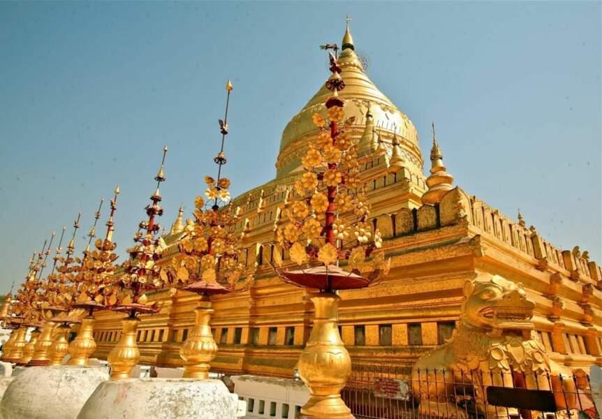 Photo prise à Bagan (Birmanie) par le GEOnaute : leroy