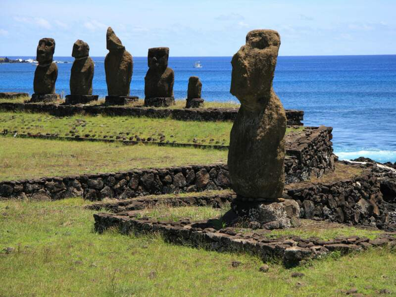 Diaporama n°12 : A la conquête de l'île de Pâques