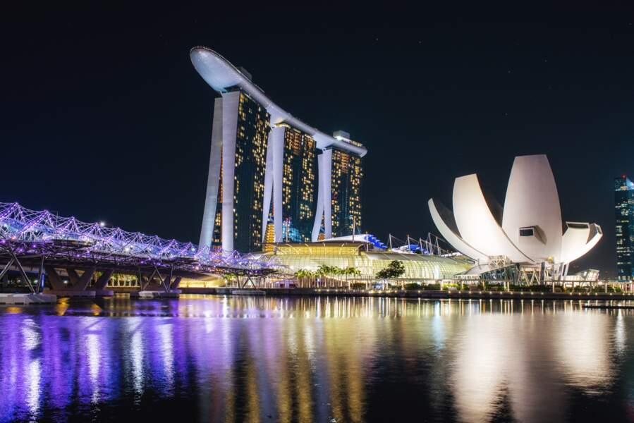 Une virée luxe à Marina Bay Sands