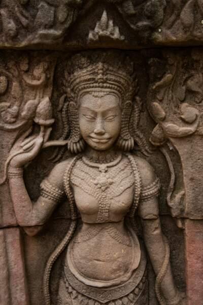 Divinité du sanctuaire de Banteay Kdei