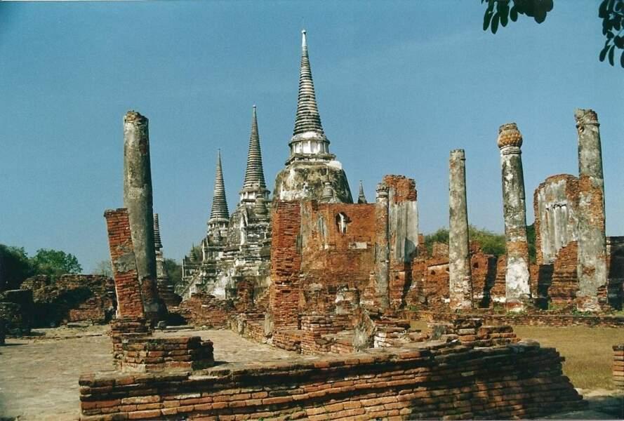 Ayutthaya, par Philippe Cornille