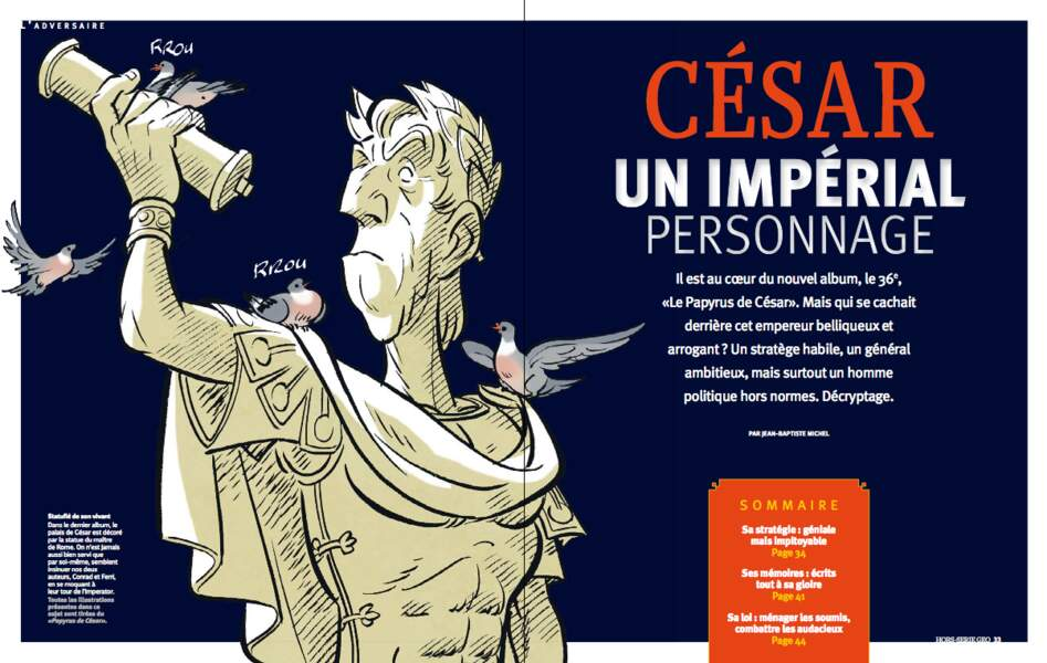 César, un impérial personnage