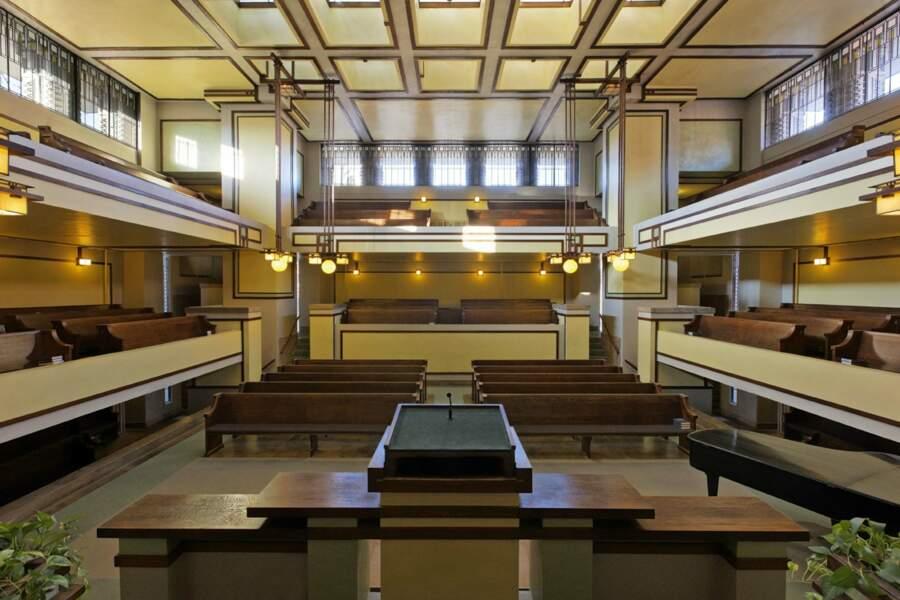 Les œuvres architecturales du XXe siècle de Frank Llyod Wright aux Etats-Unis
