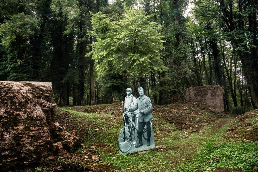 A Verdun, les tranchées reverdissent