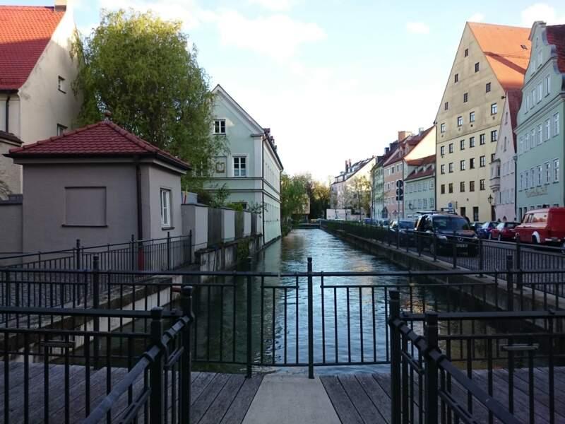 Système de gestion de l'eau d'Augsbourg en Allemagne