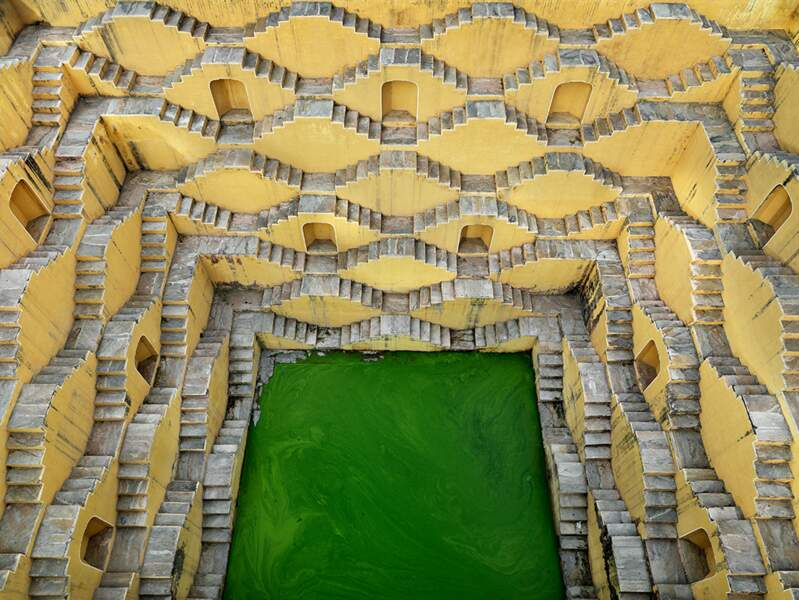 Stepwell #2, Panna Meena, Ambert, Rajasthan, India, 2010