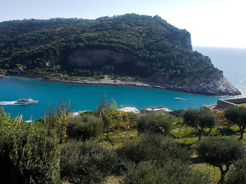 Palmaria, une grotte romantique