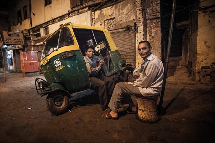 Photo prise à New Delhi (Inde) par le GEOnaute : geinoh