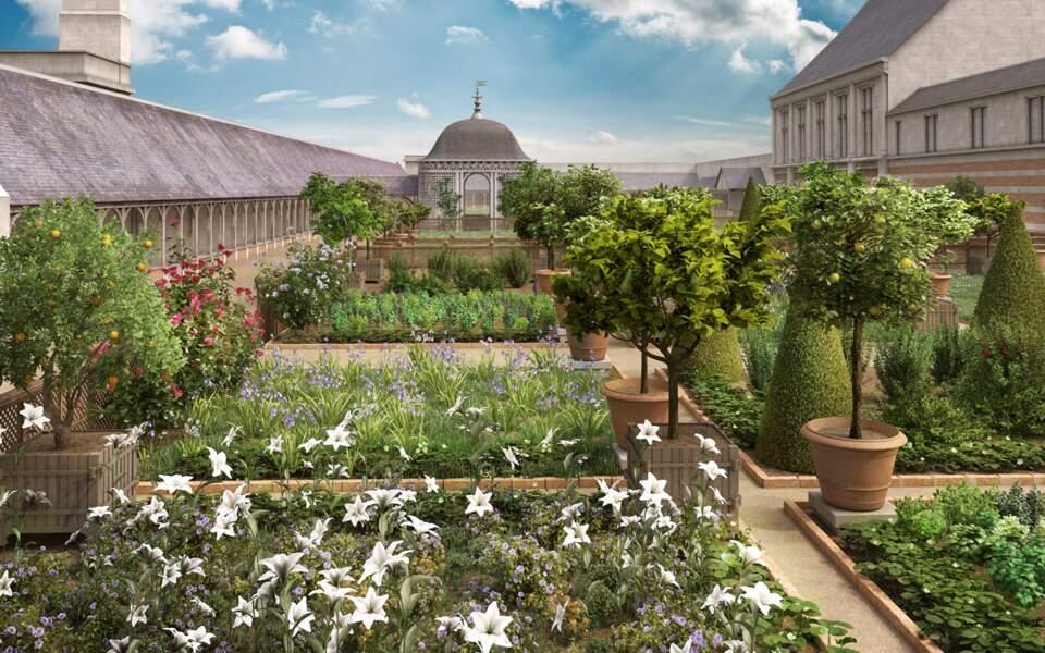 Amboise : le jardin
