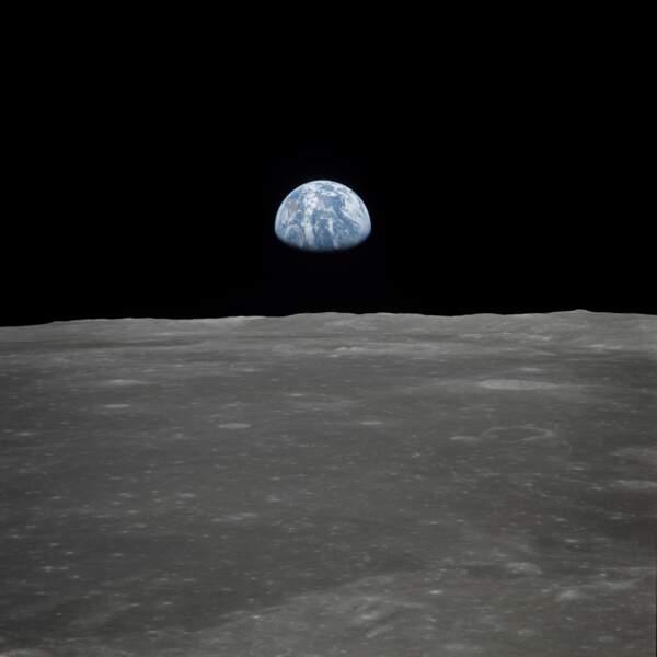 La Terre vue depuis la Lune