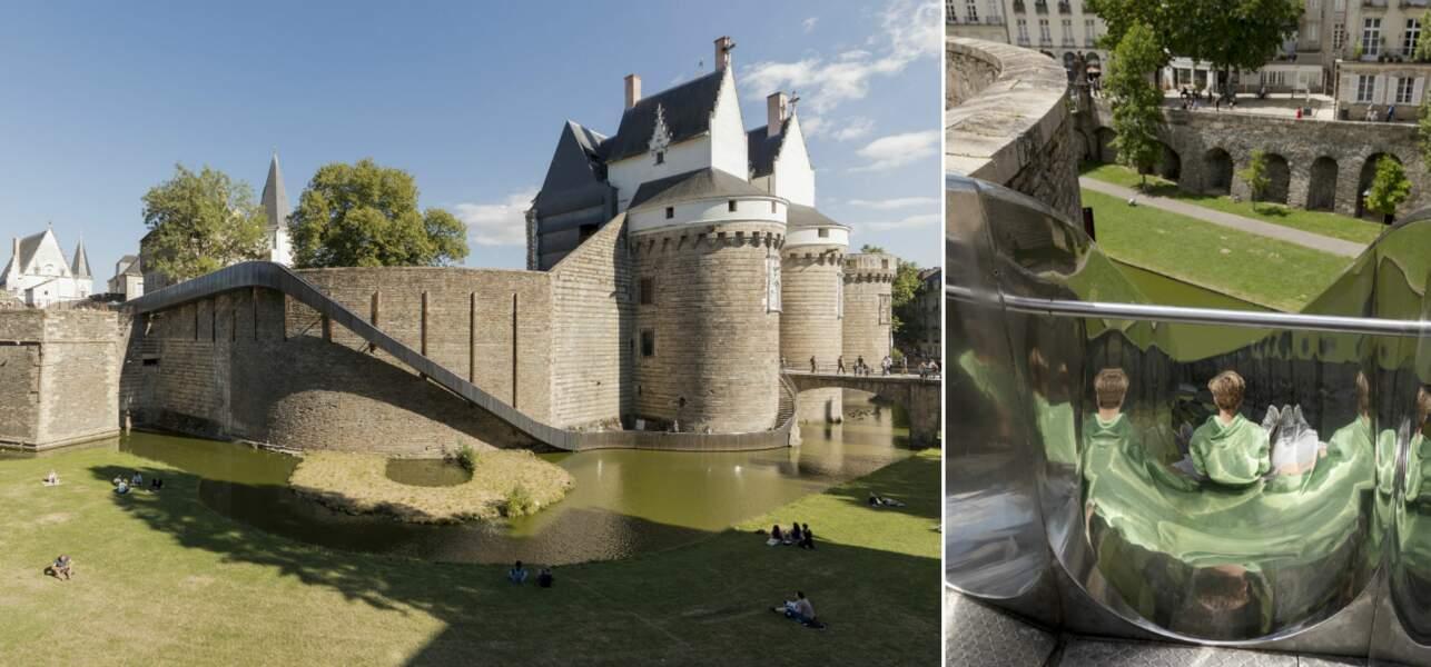 Le Château des ducs de Bretagne et son toboggan (de mai à septembre)