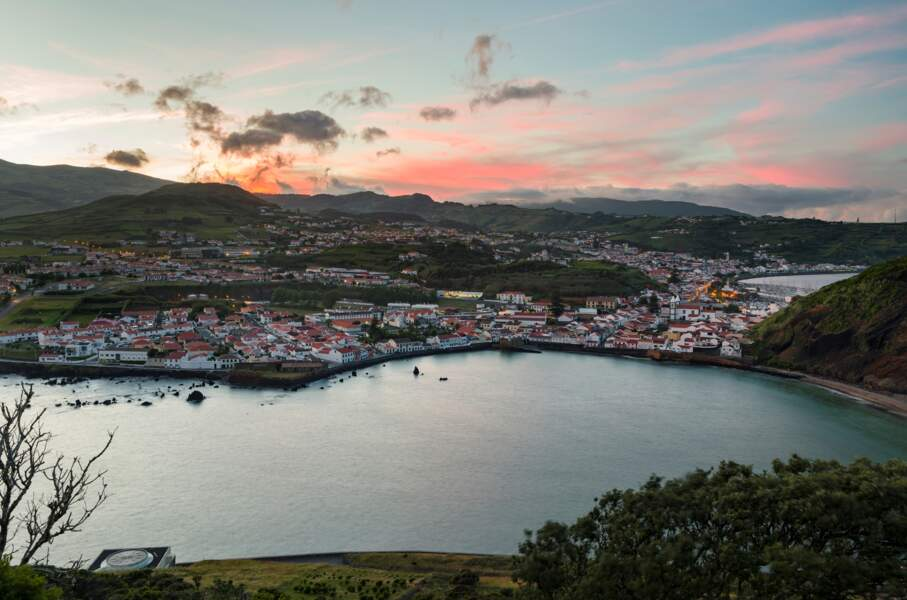 Baie de Horta, Açores, Portugal
