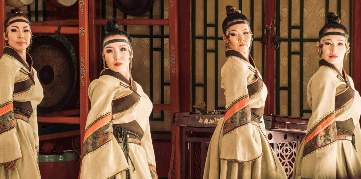 L'ensemble Tumen Ekh qui met en avant les arts traditionnels mongols