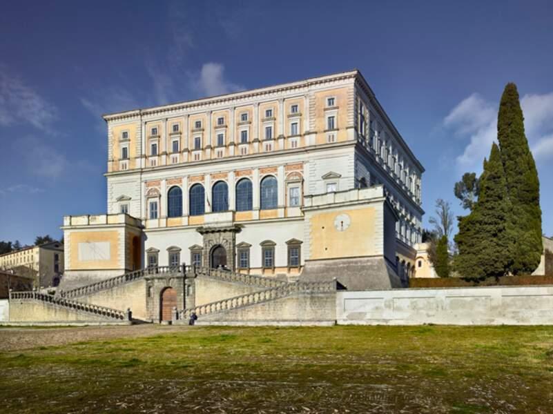 Villa de la famille Farnese à Caprarola, dans le nord du Latium