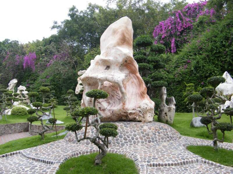 The Million-Year Stone Park, par Sylvie Perichon