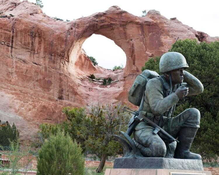 L'armée reconnaissante aux Navajos