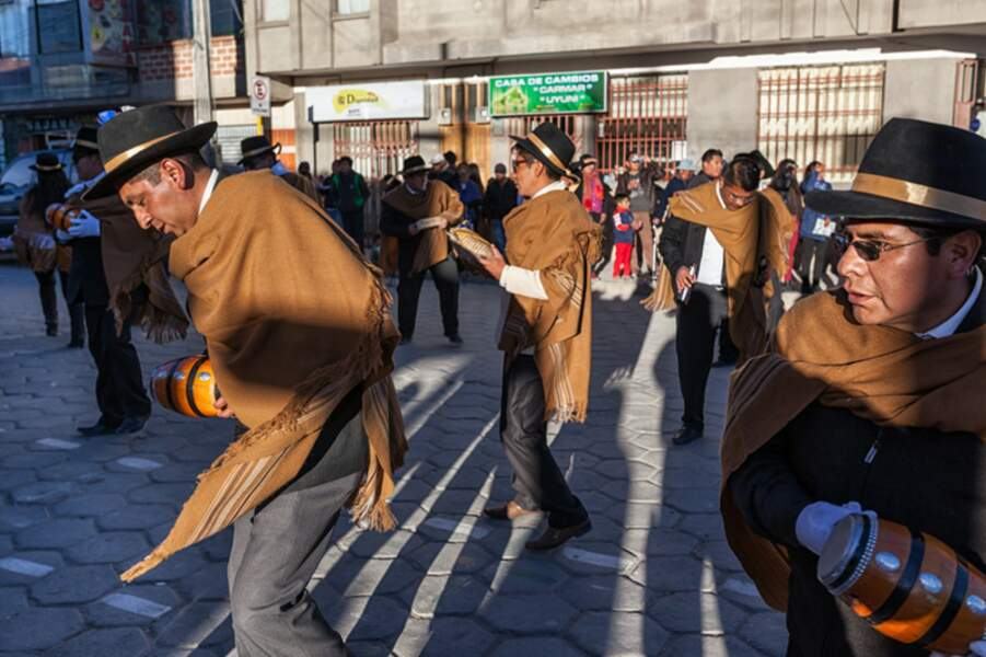 Dans les rues d'Uyuni