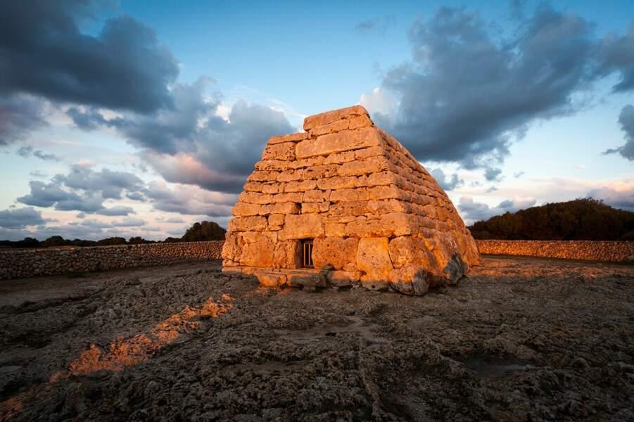 Les vestiges du Minorque talayotique, en Espagne