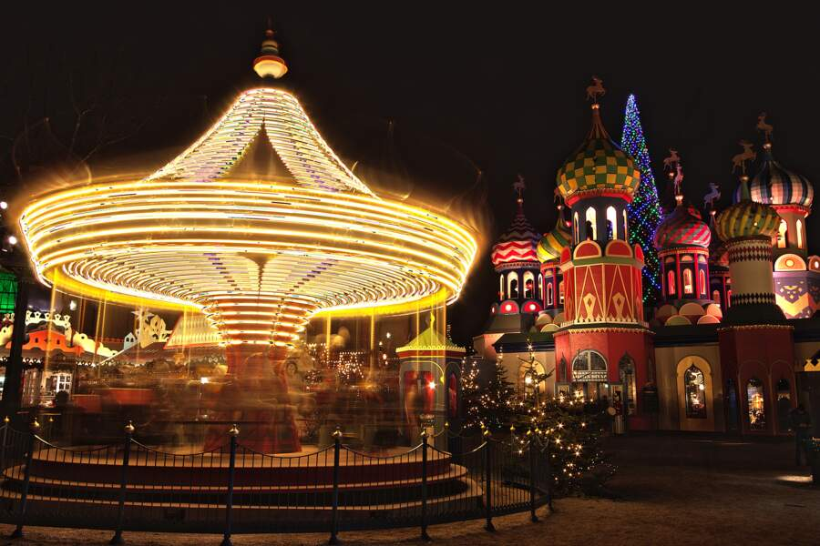 Les jardins de Tivoli, parc d'attractions à ne pas manquer