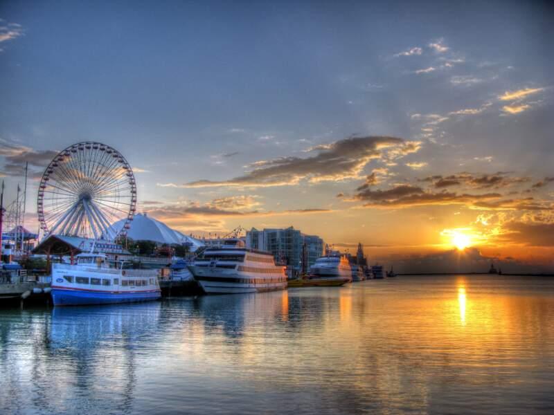Faire une balade au Navy Pier