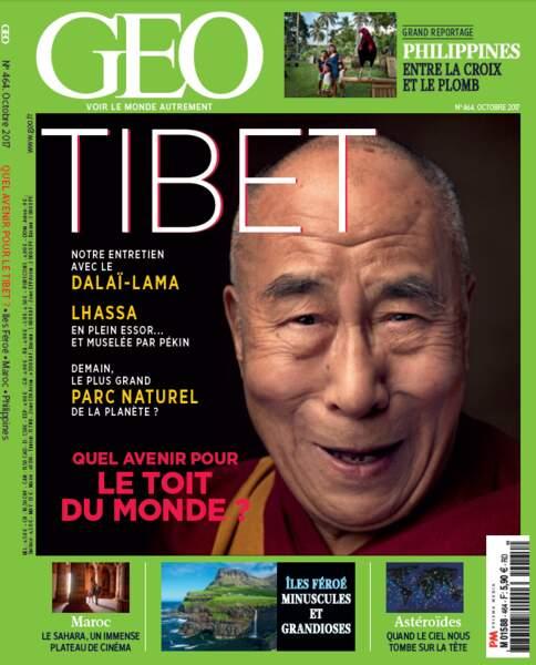 """""""Hollyoued"""", un portfolio à découvrir en intégralité dans le magazine GEO d'octobre 2017 (n°464, Le Tibet)"""
