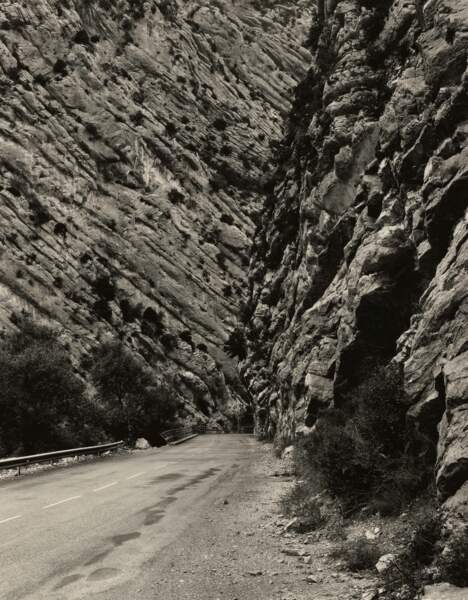 N 202, entre Barrême et Digne, Alpes-de-Haute-Provence