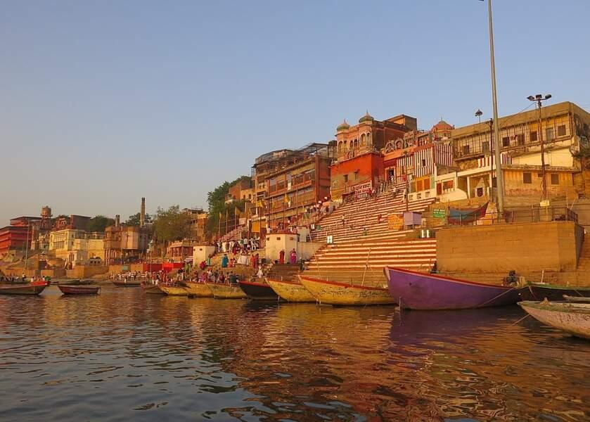 Les berges du Gange à Bénarès