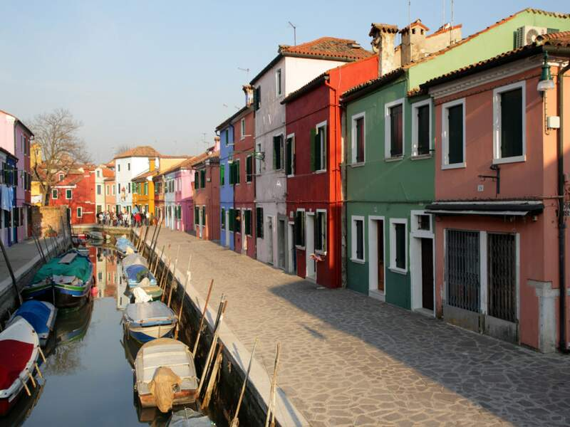 Diaporama n°3 : Dans la lagune de Venise, les couleurs de Burano