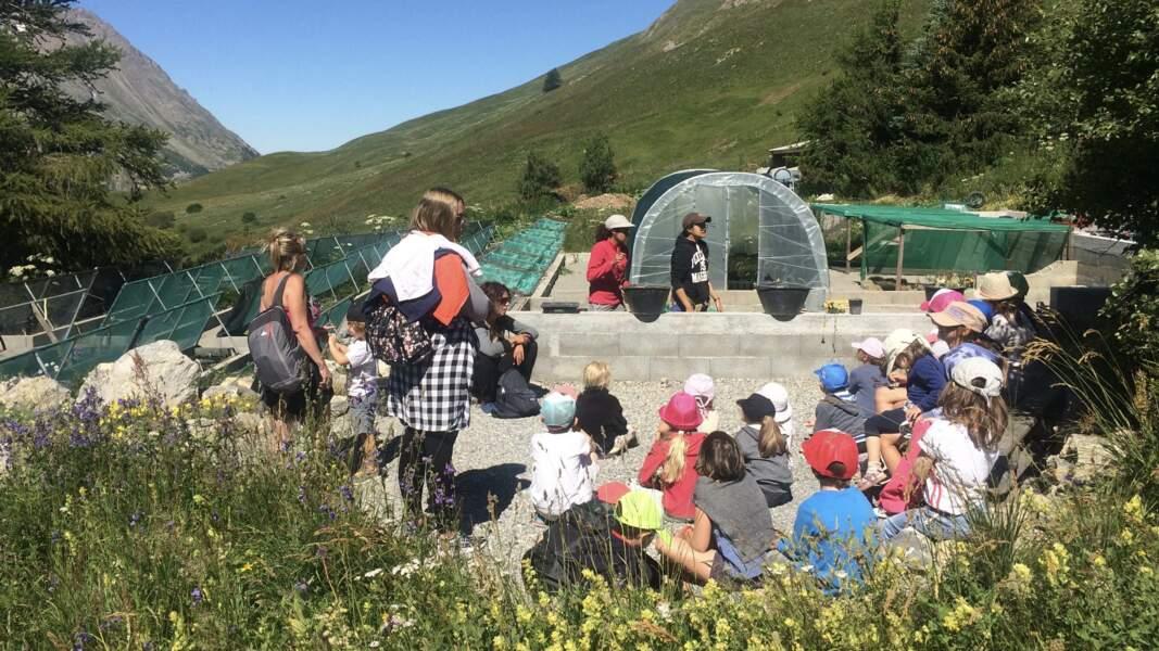 L'éducation, l'une des missions du jardin du Lautaret