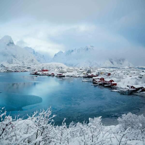 La ville de Reine dans les îles Lofoten, en Norvège, par Cathy Marion / Communauté GEO