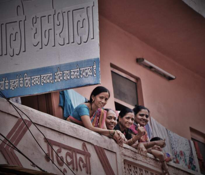 Indiennes à Haridwar