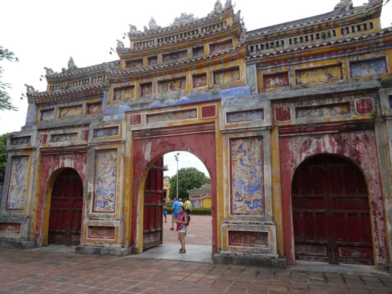 Porte intérieure de la cité impériale de Hué, par Floriane Ramjattan / Communauté GEO