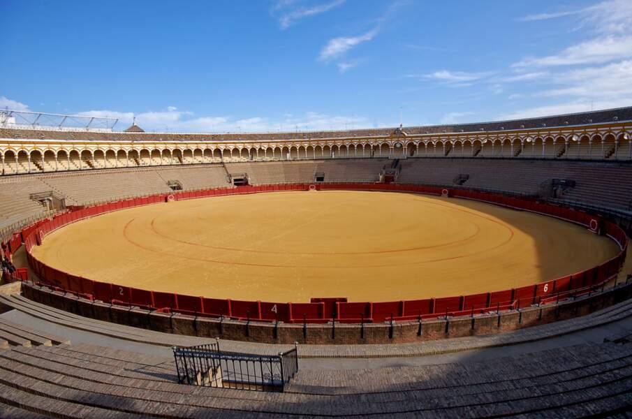 Plaza de Toros à Osuna, province de Séville, Espagne : la grande arène de Meereen