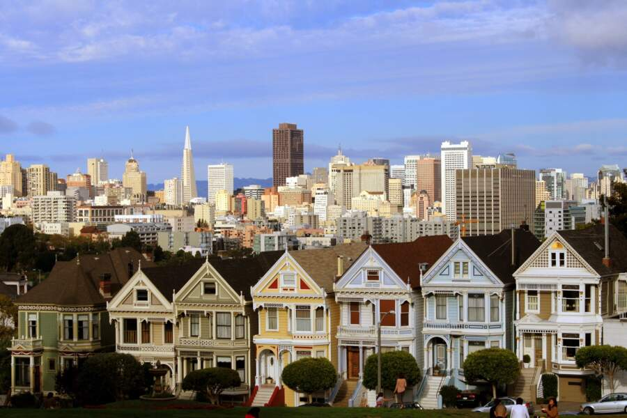 Rendre hommage aux « Painted Ladies » de San Francisco