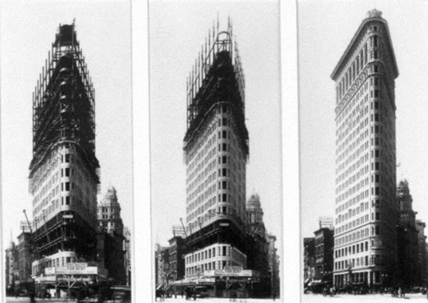Flatiron : un « fer à repasser » sur la 5e Avenue