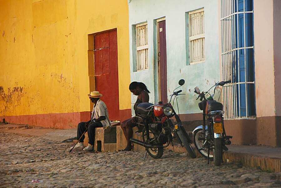 Scène de rue à Trinidad, Cuba, par Isabelle Chauvel / Communauté GEO