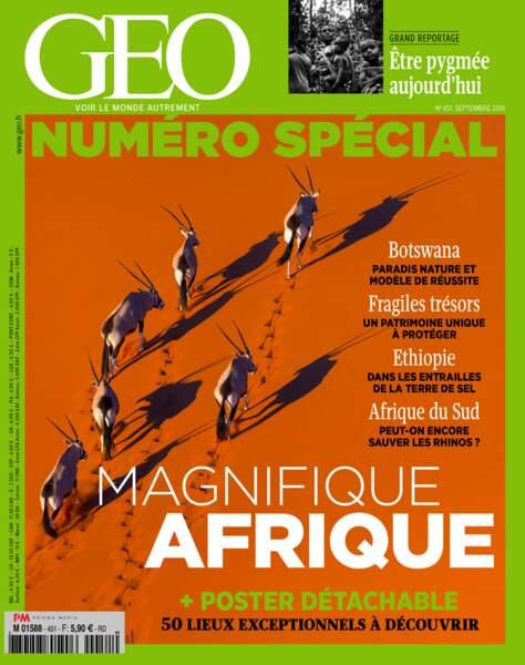 Retrouvez l'intégralité de ce reportage dans le magazine GEO de septembre 2016 (n°451)
