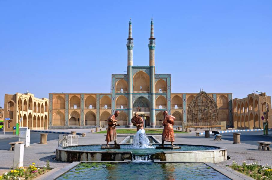 Complexe Amir Chakhmagh, à Yazd