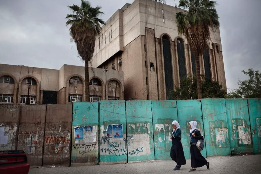 Dans les rues de Bagdad