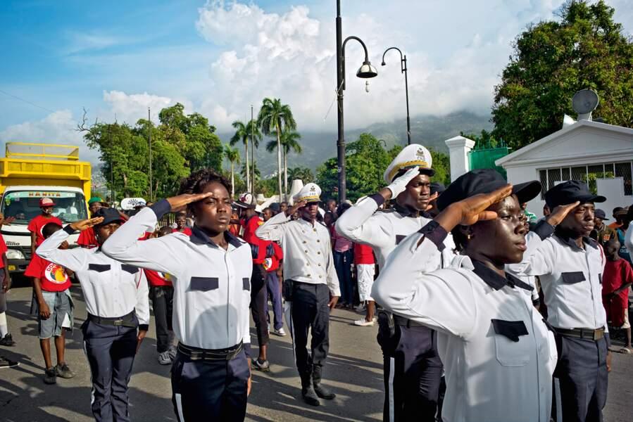 La fête du drapeau en Haïti
