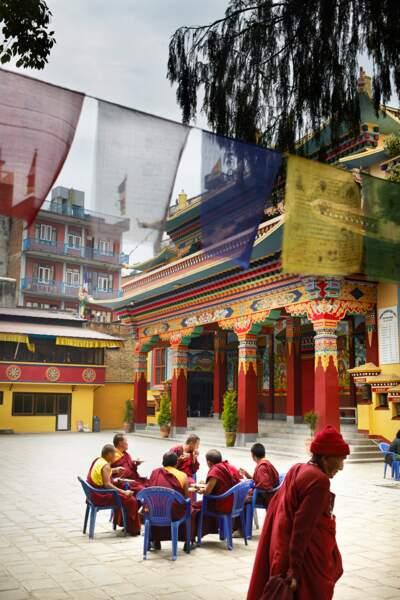 Refuge bienvenu à Katmandou