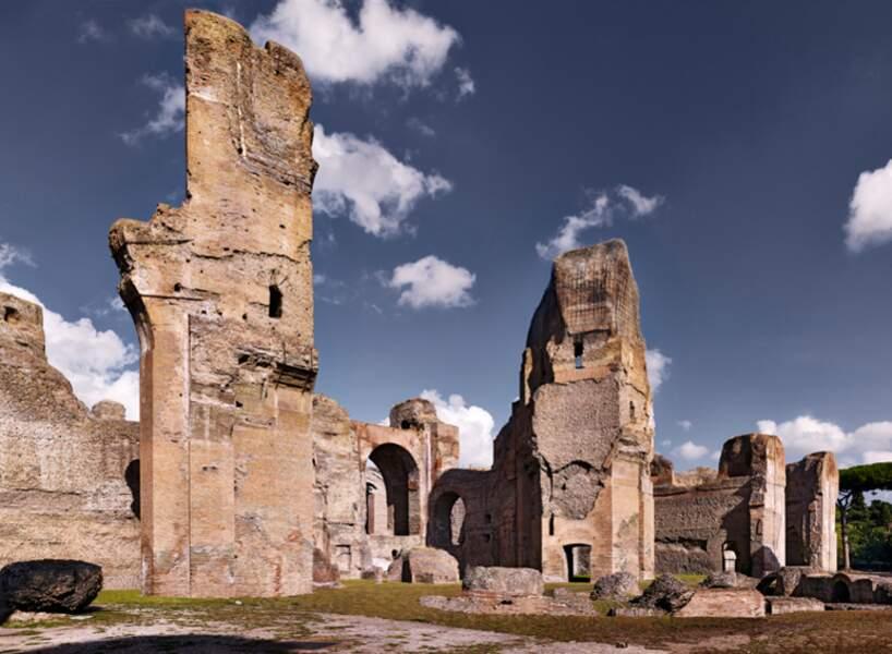 Caldarium des thermes de Caracalla, à Rome