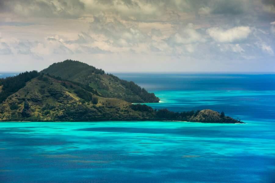 Akamaru, la troisième plus grande île des îles Gambier