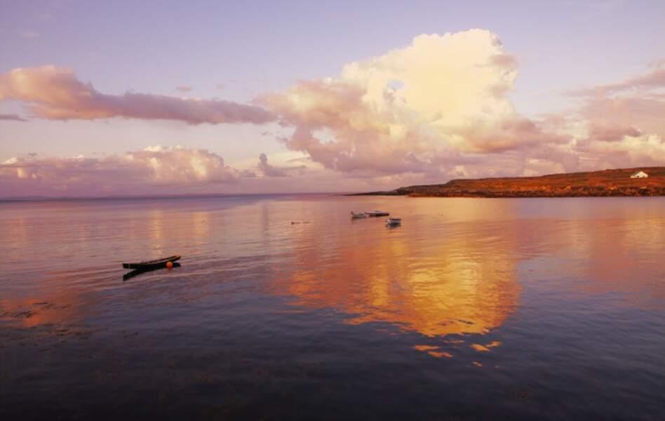 Irlande - Les îles d'Aran, bienvenue sur Inis Mor
