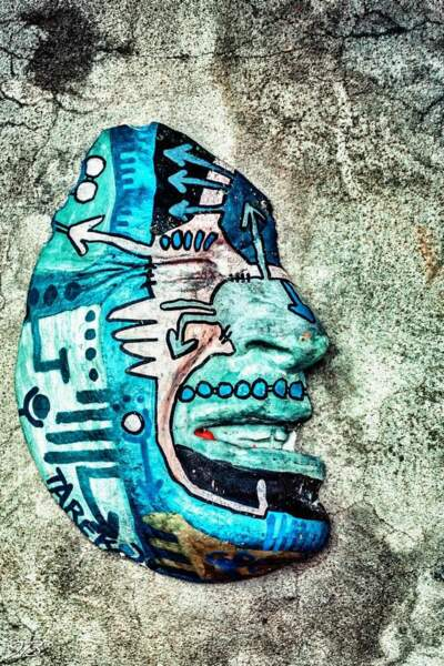 Oeuvre du street-artiste Gregos