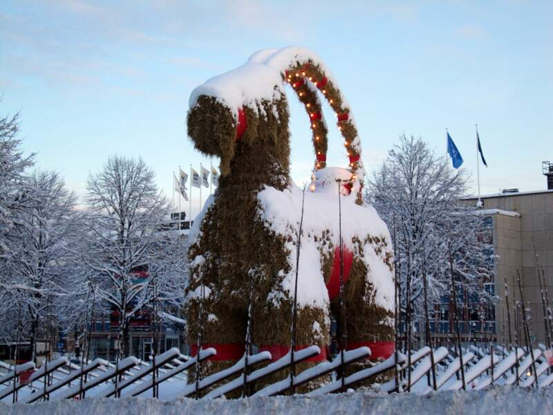 Le bouc de Noël (Suède)