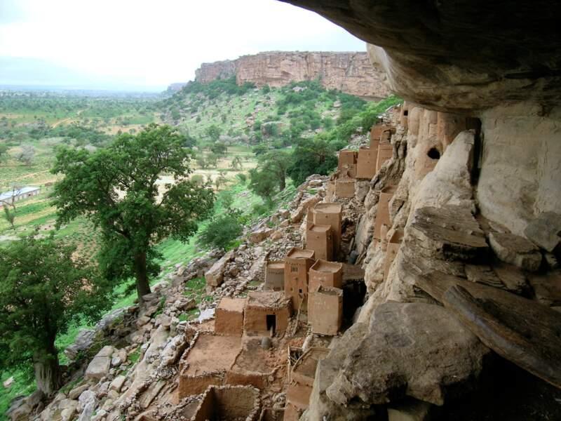 Le spectaculaire territoire des Dogons
