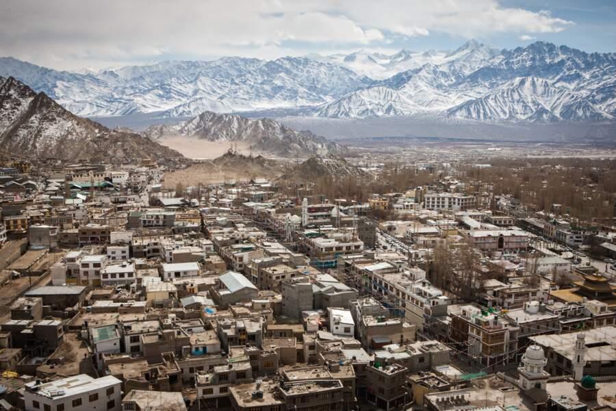 La capitale du Ladakh