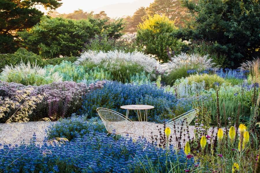 Le jardin du mont Macedon, Victoria, Australie
